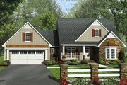 Country Style House Plan - 4 Beds 2.5 Baths 2258 Sq/Ft Plan #21-386 Exterior - Front Elevation