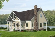 House Plan Design - Country Exterior - Front Elevation Plan #932-351