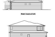 Architectural House Design - Prairie Exterior - Other Elevation Plan #1066-72