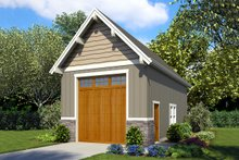 Traditional Exterior - Front Elevation Plan #48-929