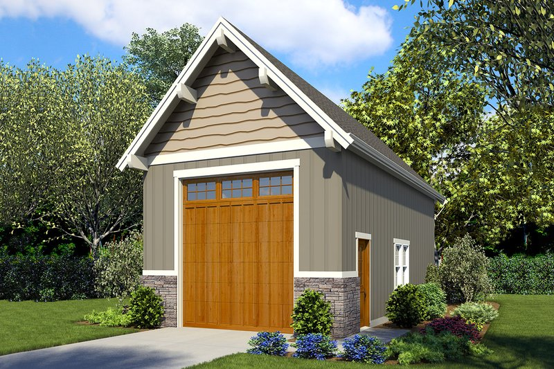 Home Plan - Traditional Exterior - Front Elevation Plan #48-929