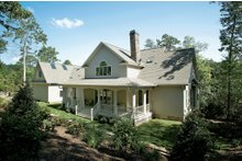 House Plan Design - Country Exterior - Rear Elevation Plan #929-18