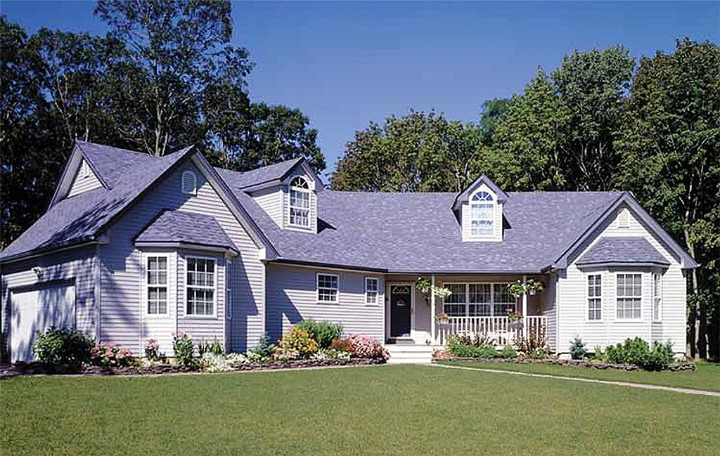 Country Style House Plan 3 Beds 2 5 Baths 1709 Sq Ft
