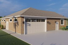Dream House Plan - Traditional Exterior - Front Elevation Plan #1060-79