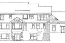 Farmhouse Exterior - Rear Elevation Plan #51-204