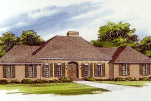 Traditional Exterior - Front Elevation Plan #10-148
