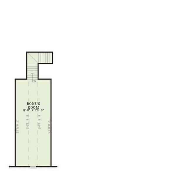 House Plan Design - Traditional style house plan