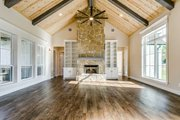 Southern Style House Plan - 4 Beds 3.5 Baths 2765 Sq/Ft Plan #1074-8 Interior - Family Room