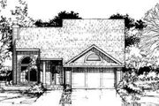 House Plan - 3 Beds 2 Baths 1303 Sq/Ft Plan #320-119 Exterior - Front Elevation