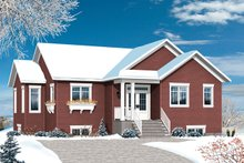 House Plan Design - Ranch Exterior - Front Elevation Plan #23-2614