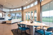 Modern Style House Plan - 5 Beds 4 Baths 5716 Sq/Ft Plan #920-18 Interior - Dining Room