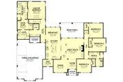 Farmhouse Style House Plan - 4 Beds 2.5 Baths 3032 Sq/Ft Plan #430-202 Floor Plan - Main Floor Plan