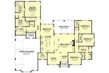 Farmhouse Floor Plan - Main Floor Plan Plan #430-202