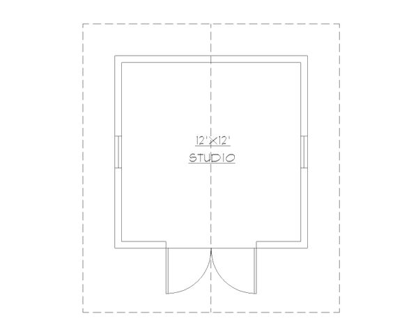 Cottage Floor Plan - Main Floor Plan Plan #922-7