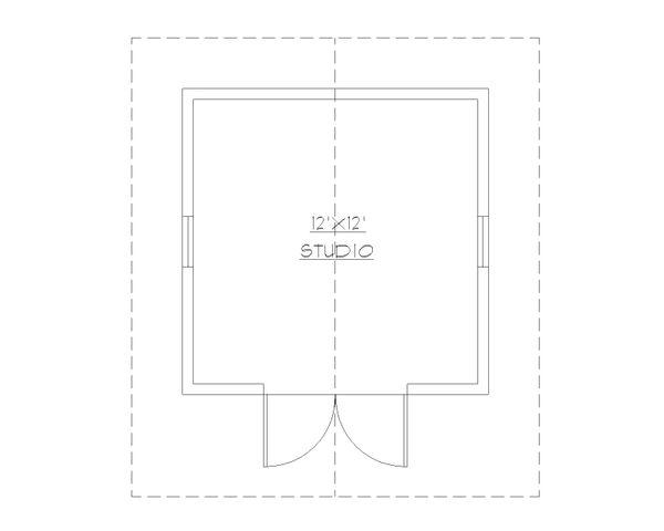 Cottage Floor Plan - Main Floor Plan #922-7