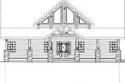 Cabin Style House Plan - 3 Beds 2.5 Baths 2281 Sq/Ft Plan #117-549 Exterior - Other Elevation