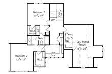 Traditional Floor Plan - Upper Floor Plan Plan #927-6