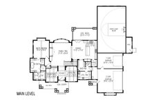 Craftsman Floor Plan - Main Floor Plan Plan #920-24