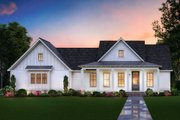 Farmhouse Style House Plan - 3 Beds 2 Baths 1777 Sq/Ft Plan #1074-25 Exterior - Front Elevation