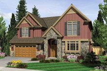 Craftsman Exterior - Front Elevation Plan #48-236
