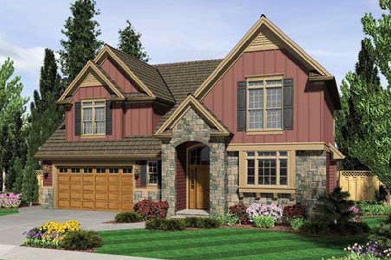 Home Plan - Craftsman Exterior - Front Elevation Plan #48-236