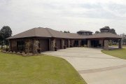 Contemporary Style House Plan - 4 Beds 3.5 Baths 4183 Sq/Ft Plan #17-2551
