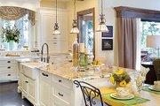 European Style House Plan - 3 Beds 3.5 Baths 4142 Sq/Ft Plan #48-625 Interior - Kitchen