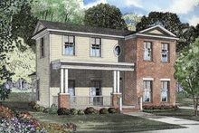House Plan Design - Southern Exterior - Front Elevation Plan #17-438