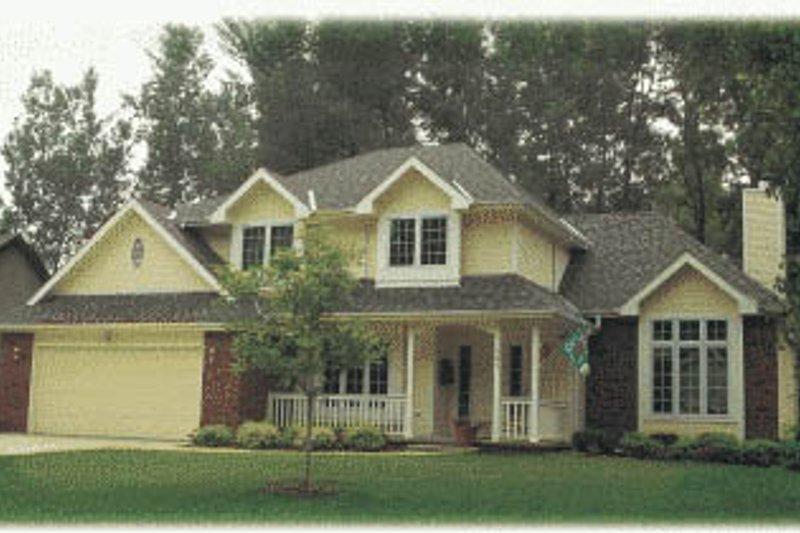 Farmhouse Exterior - Front Elevation Plan #20-270 - Houseplans.com