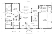 Southern Floor Plan - Main Floor Plan Plan #17-638