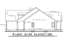 Architectural House Design - Traditional Exterior - Front Elevation Plan #20-1666