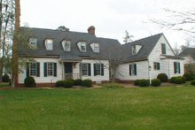 Front view - 3500 square foot Colonial Home
