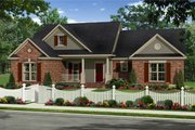 Country Style House Plan - 3 Beds 2 Baths 1720 Sq/Ft Plan #21-340