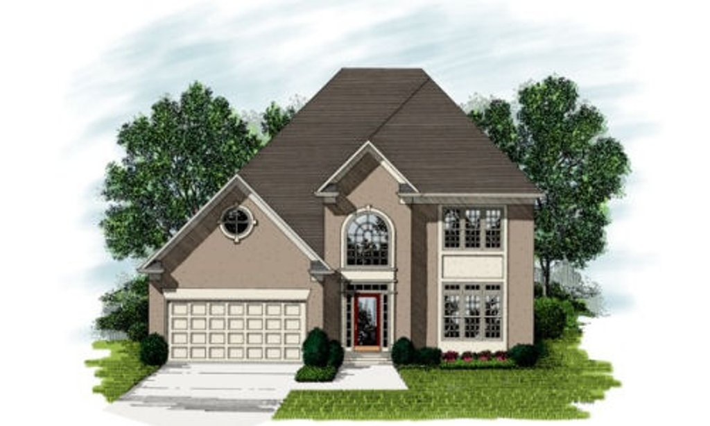 European style house plan 3 beds 2 5 baths 2580 sq ft for Lrk house plans