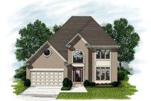 Home Plan Design - European Exterior - Front Elevation Plan #56-193