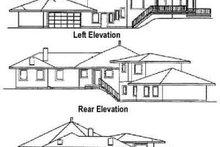 Traditional Exterior - Rear Elevation Plan #60-372