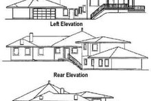 Dream House Plan - Traditional Exterior - Rear Elevation Plan #60-372