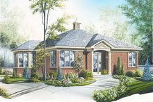 Traditional Exterior - Front Elevation Plan #23-686