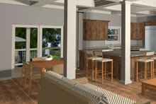 Craftsman Interior - Dining Room Plan #56-710