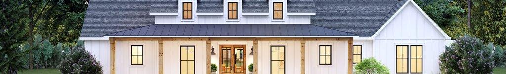 Farmhouse Plans, Home Floor Plans & Designs