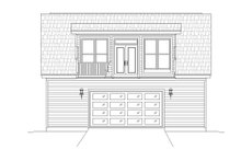 Dream House Plan - Contemporary Exterior - Rear Elevation Plan #932-239