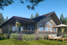 Dream House Plan - Traditional Exterior - Other Elevation Plan #1066-122
