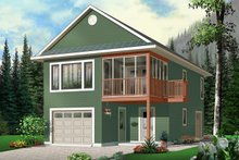 Traditional Exterior - Front Elevation Plan #23-442