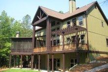 Home Plan - Craftsman Exterior - Rear Elevation Plan #437-5