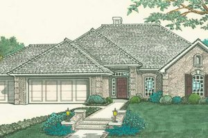 Traditional Exterior - Front Elevation Plan #310-288