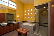 Modern Style House Plan - 3 Beds 4 Baths 3611 Sq/Ft Plan #449-7 Interior - Master Bathroom