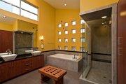 Modern Style House Plan - 3 Beds 4 Baths 3611 Sq/Ft Plan #449-7 Interior - Master Bathroom