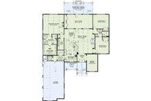 Craftsman Floor Plan - Main Floor Plan Plan #17-2487