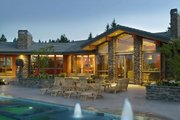Ranch Style House Plan - 5 Beds 5.5 Baths 5884 Sq/Ft Plan #48-433 Exterior - Rear Elevation