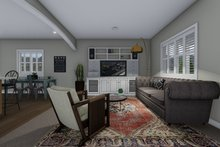 Traditional Interior - Family Room Plan #1060-54